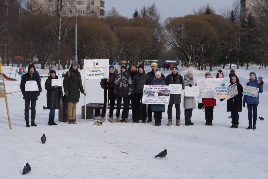 В Вологде 16 марта пройдет митинг против бетонирования городской набережной