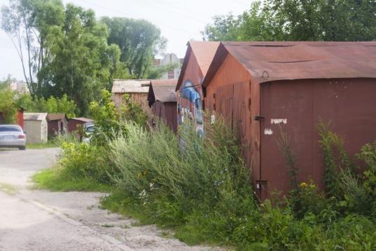 2,5 тысячи гаражей в Вологде установлены незаконно