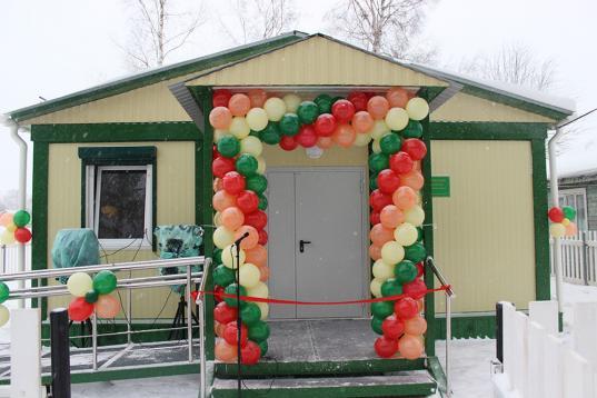 В Устюженском районе открыли новый ФАП в деревне Брилино