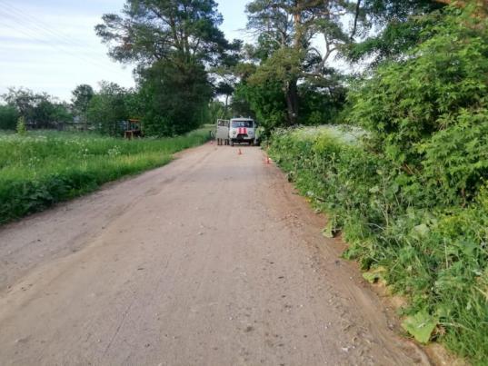 В Устюженском районе водитель сбил пешехода и скрылся с места ДТП