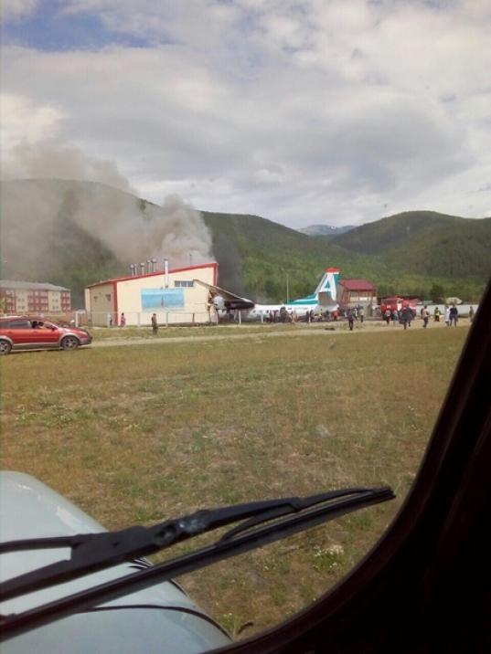 В Бурятии совершил аварийную посадку самолет Ан-24: двое погибли, семеро ранены