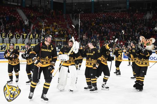 Череповецкая «Северсталь» одержала победу над рижским «Динамо»