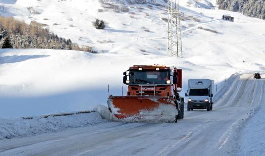 Администрацию Вожеги оштрафовали за «снежный вал» у дороги