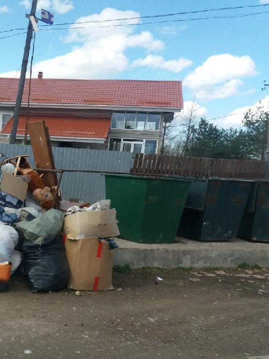 Жители Вологодского района смогут пожаловаться на завалы мусора с помощью QR-кодов