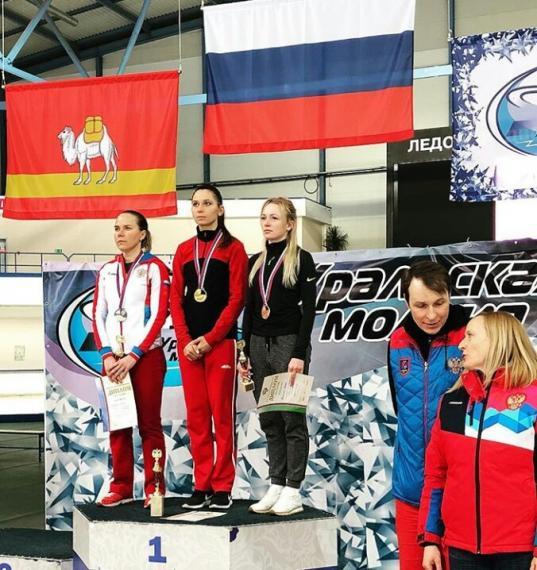 Череповчанка Евгения Лаленкова стала чемпионкой России по конькобежному спорту