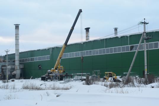 Под Соколом запустили производство древесного угля