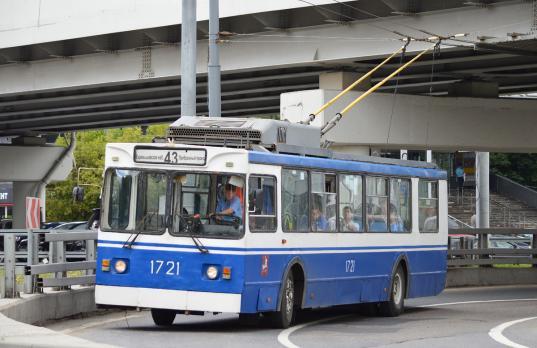 Москва бесплатно передаст Вологде 15 троллейбусов