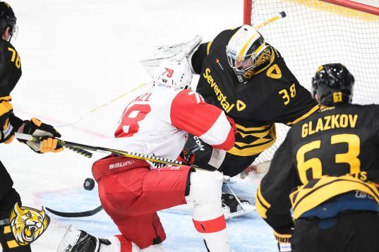 Череповецкая «Северсталь» заняла десятое место в Западной конференции КХЛ