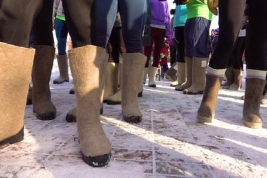 В Белозерске 20 января пройдет забег в валенках