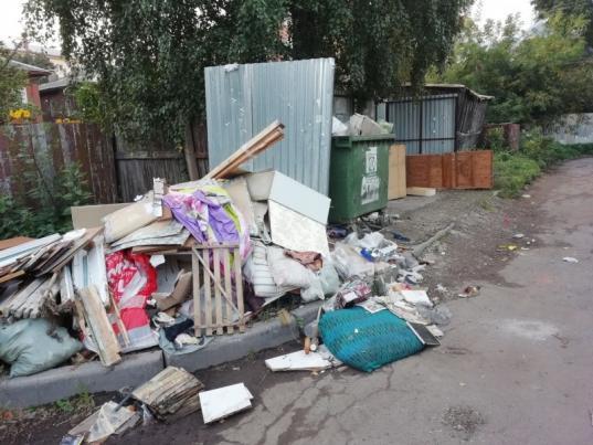 """В Вологде и пяти районах хуже всех в области справляются с реализацией """"мусорной реформы"""""""