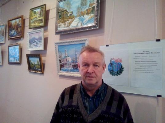 Выставка пейзажей «Очарование старой Вологды» открылась в областной библиотеке