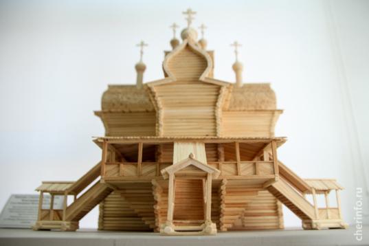 В библиотеке имени Верещагина в Череповце откроется выставка макетов старинных деревянных церквей