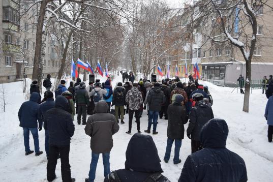 Суд не стал наказывать Евгения Доможирова за расставление колонок на митинге в Вологде
