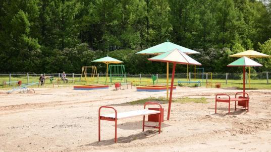 Пляж в парке Мира в Вологде открыли, но купаться там нельзя