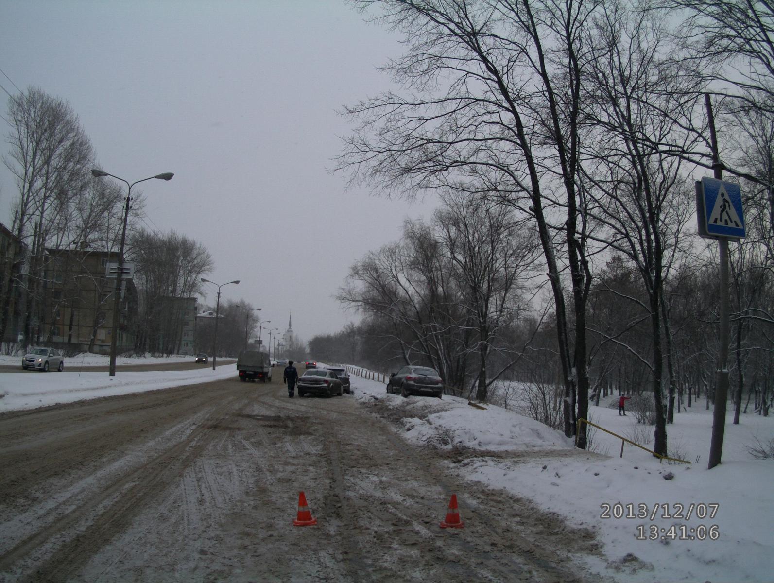 3-летний ребенок пострадал в ДТП в Череповце