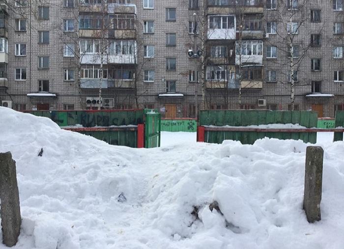 Ледовые катки во дворах Вологды обещают залить до конца января