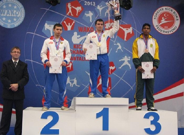 Спортсмен из Вологодской области стал чемпионом мира по кикбоксингу
