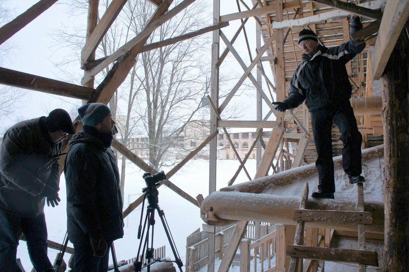 Центральные каналы снимают два фильма о Вологодской области