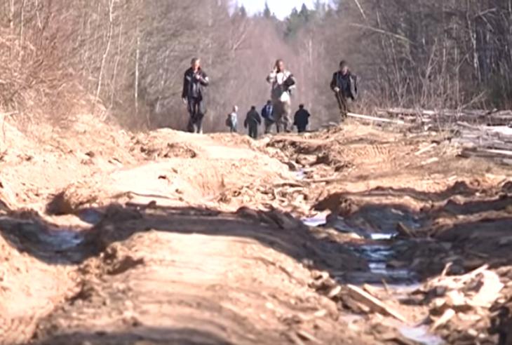 Еще несколько поселков оказались в продуктовой блокаде из-за непроезжих дорог в Вологодской области