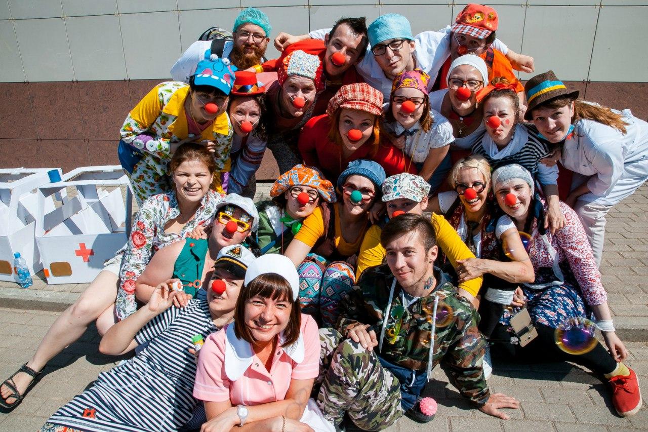 «Больничные клоуны» в Вологде проведут мастер-класс для всех желающих