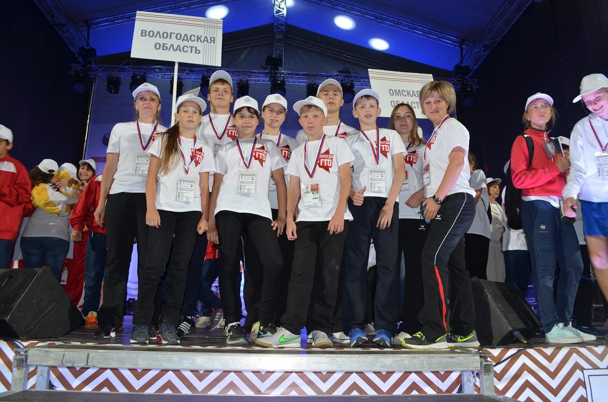 Вологжане стали вторыми в силовой гимнастике на Всероссийском фестивале ГТО