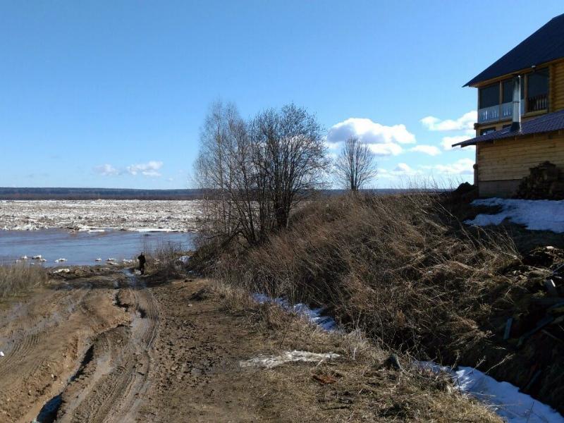 Ремонт пострадавших от паводка дорог Великоустюгского района планируют закончить к 1 сентября