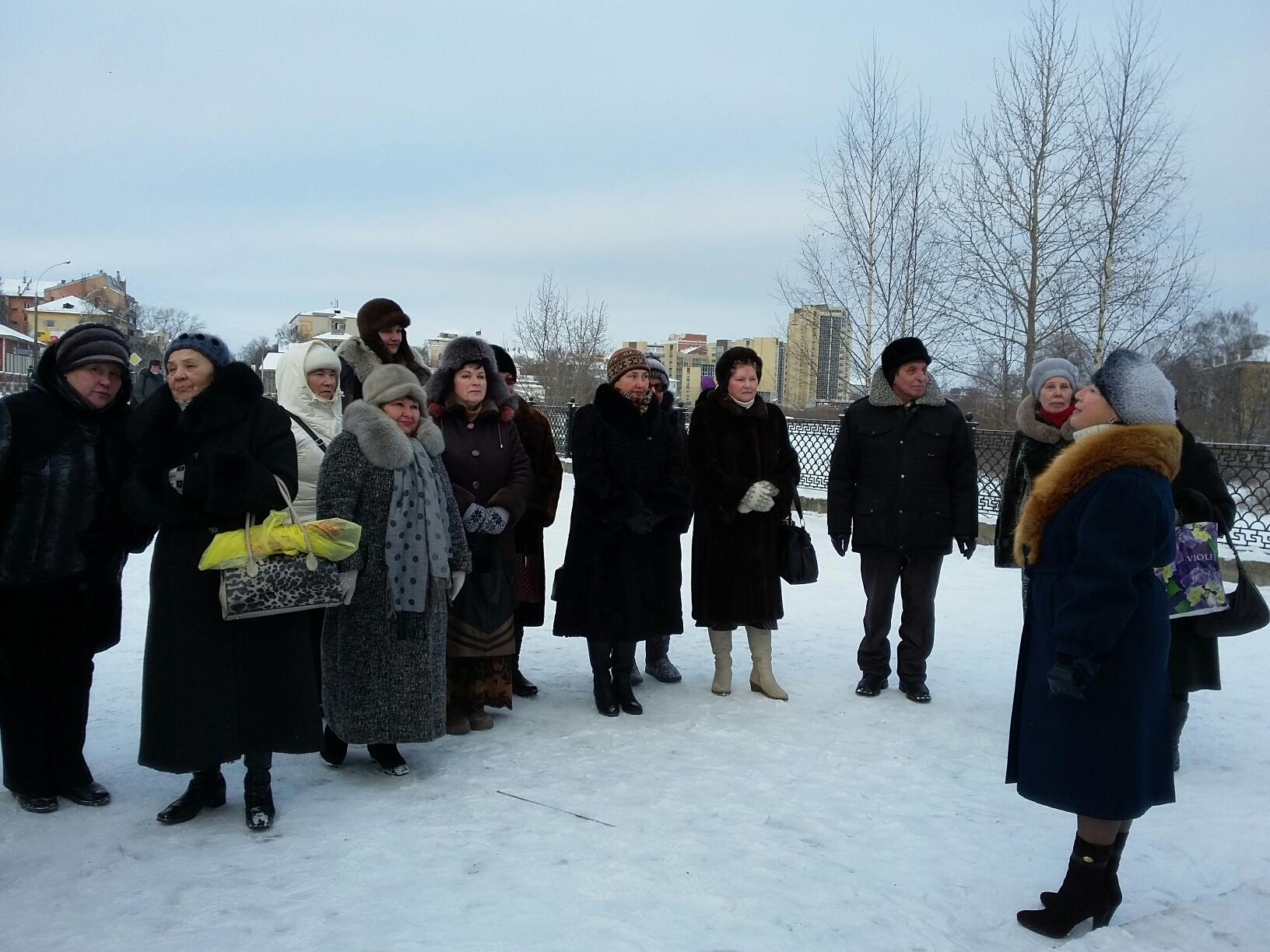 На празднование 80-летнего юбилея Николая Рубцова в Вологду приехала его дочь с семьей