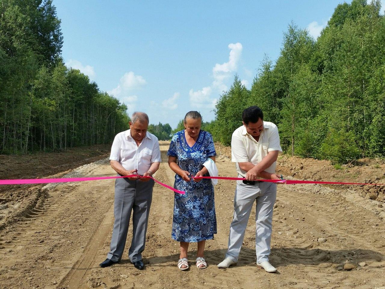 В Вологодском районе достроили дорогу к деревням Яруново, Беглово и Петраково