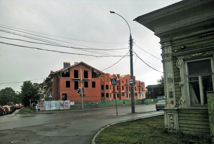 В Вологде хозяев стройки в охранной зоне памятника могут привлечь к уголовной ответственности