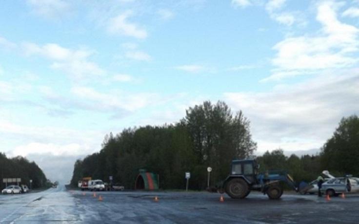 В Вологодской области пьяный тракторист врезался в ВАЗ: водитель автомобиля погиб