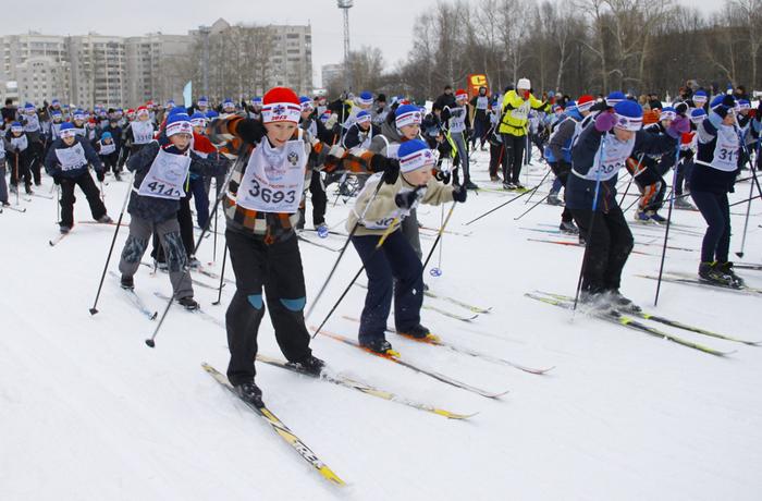 В воскресенье в Вологде пройдет «Лыжня России»