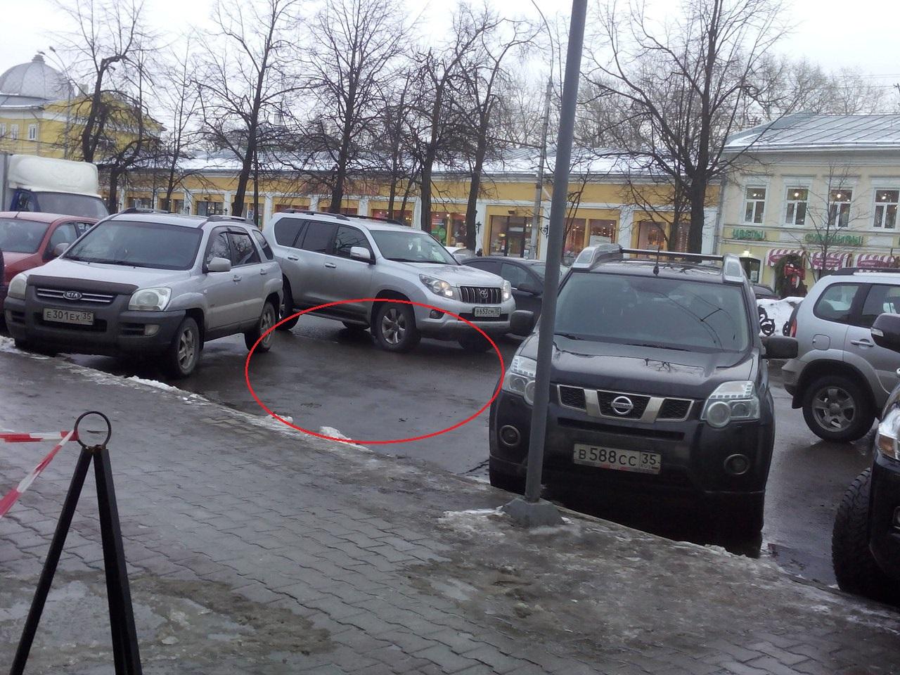 Вологжанка пытается доказать ГИБДД, что ее машину эвакуировали незаконно