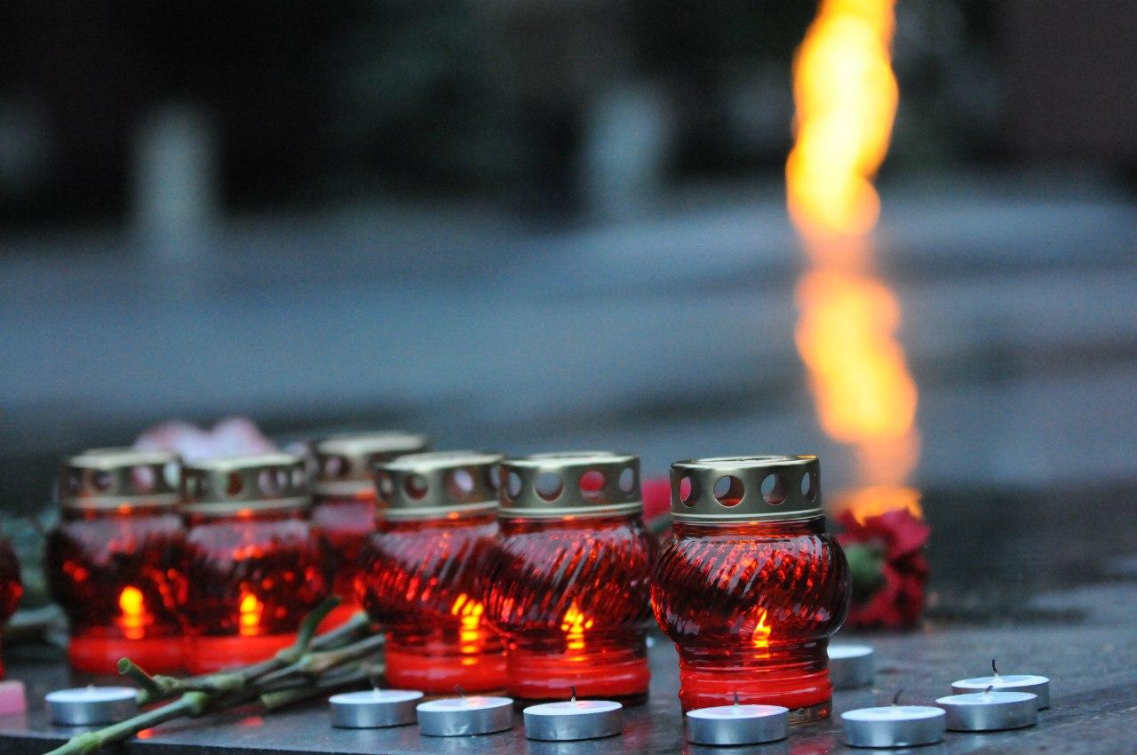 """""""Свечи памяти"""" зажгли вологжане"""