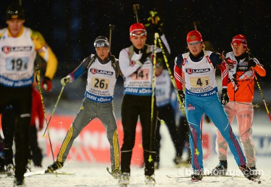 Сборная России стала десятой в смешанной эстафете на Чемпионате Мира по биатлону