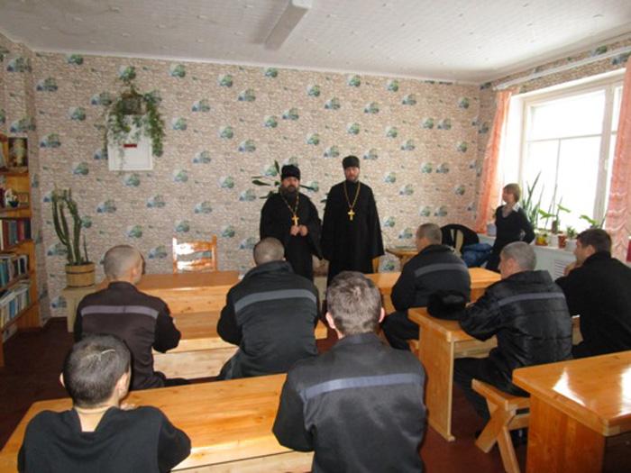 Трон, окормление, воцерковление: осужденным сокольской колонии читают курс «Основы православной веры»