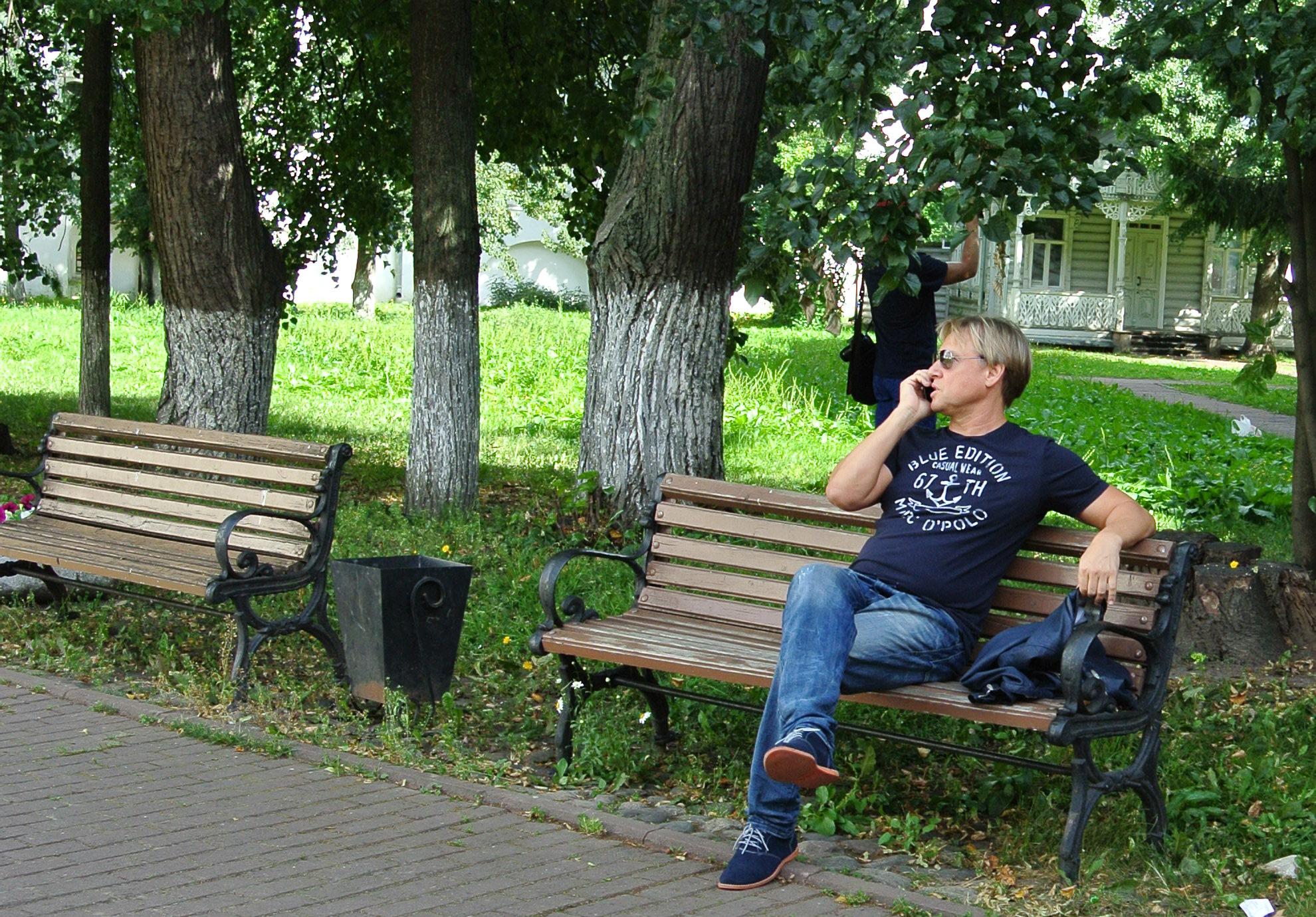 Дмитрий Харатьян приехал в Вологду, чтобы представить фильм о Форте-Росс
