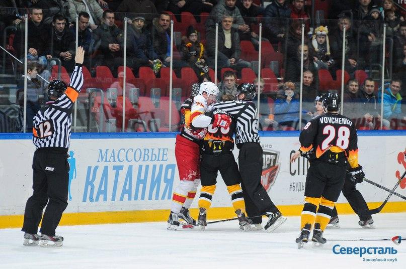 Лишний игрок лишил «Северсталь» очков в игре против финского «Йокерита»