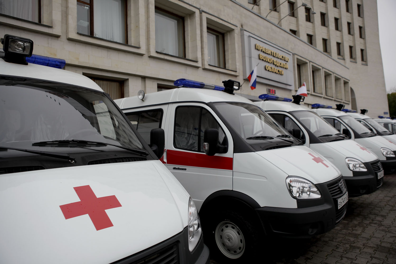 28 новых машин скорой помощи отправили в районы Вологодской области