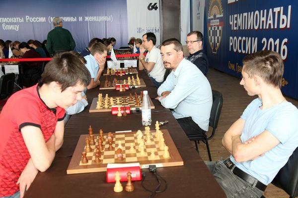 Сборная Вологодской области заняла четвертое место на Чемпионате России по шахматам