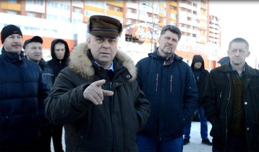 «Антиплатоновская» акция дальнобойщиков в Вологде завершена