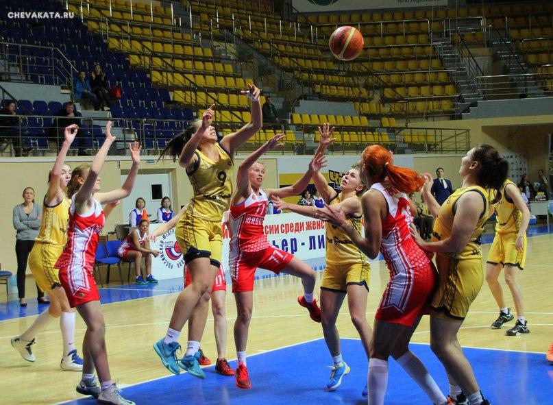 Баскетболистки «Вологда-Чеваката» уступили курскому «Динамо»