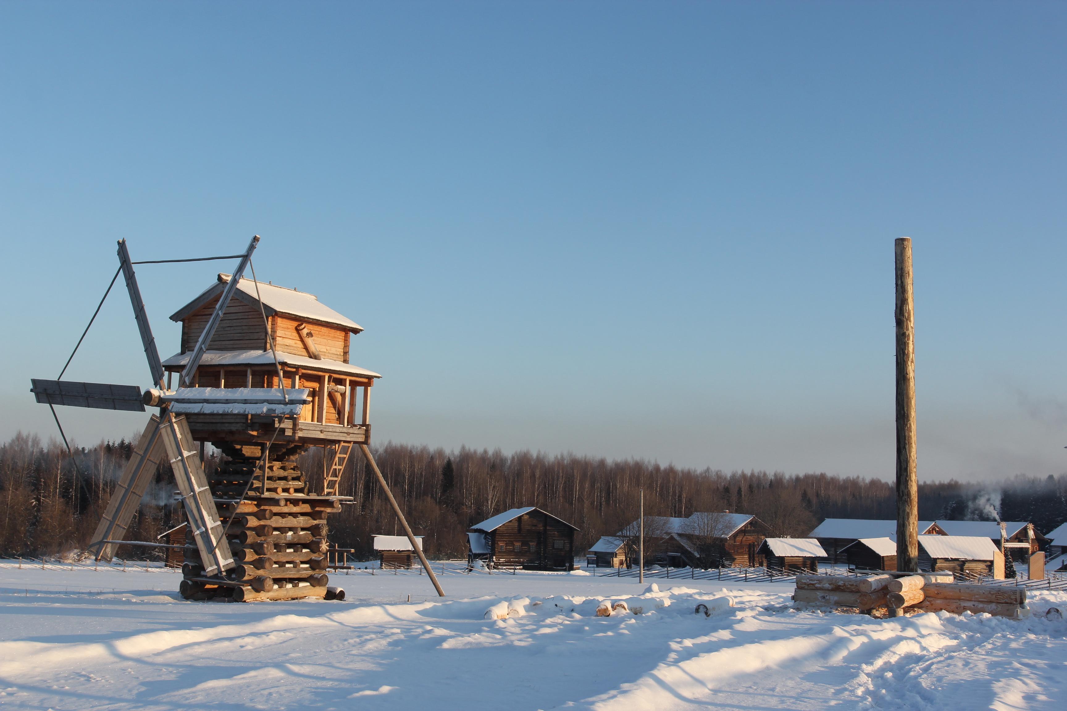 В музее «Семёнково» установят ещё одну ветряную мельницу