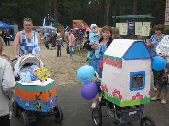 Конкурс на самую лучшую, красивую и необычную детскую коляску