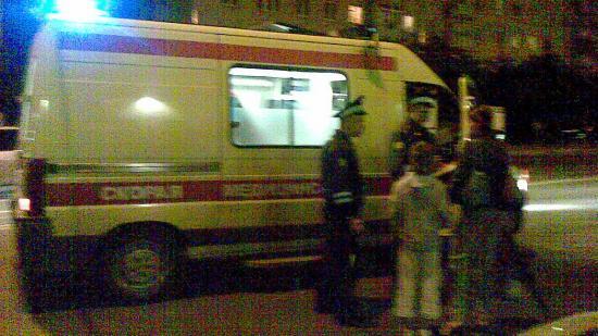 Пострадавших госпитализировали на Скорой в больницу