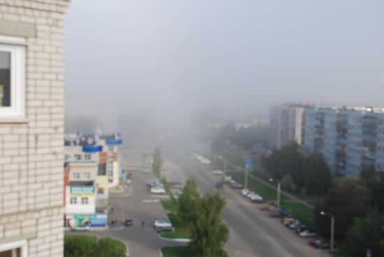 Туман в Вологде