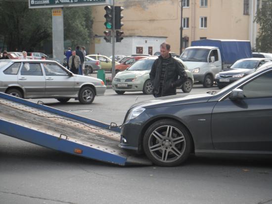 Вторая потерпевшая машина