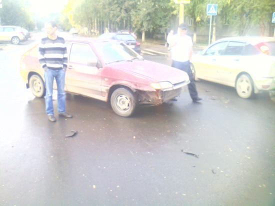 Авария с участием скутериста