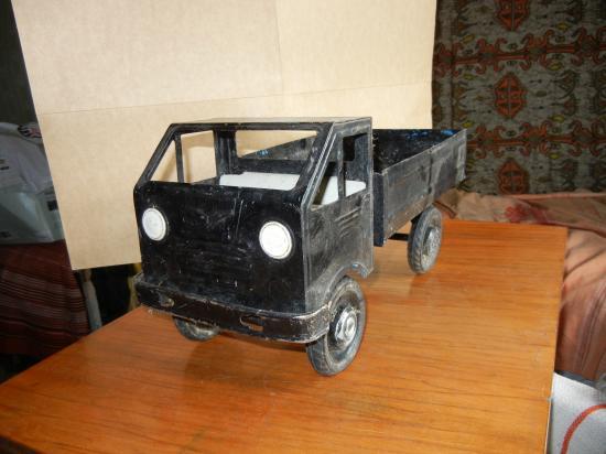 Мой первый грузовик