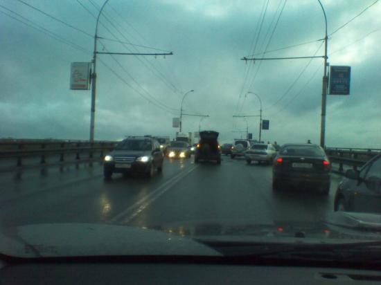 Путепровод на Ленинградской