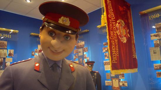 Добрые глаза милиционера